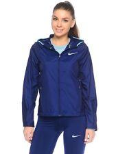 Nike escudo mujer chaqueta para correr Binary azul / vivo cielo S