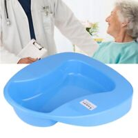 Portable Firm Thick Plastic Bedpan Stable Potty for Patient Elderly Bedridden