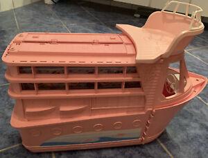 Barbie Kreuzfahrtschiff Traumschiff- rosa/pink -Schiff mit viel Zubehör