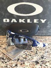 Oakley Flak Jacket XLJ New York Yankees/Black Iridium Sunglasses MLB Baseball