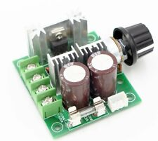 RioRand 12V-40V 10A PWM DC Motor Speed Controller with Knob-High Efficiency, Hig