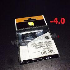 Nikon DK-20C Diopter-Adjustment -4 Eyepiece Correction Lens for D7000 D5000 FE10