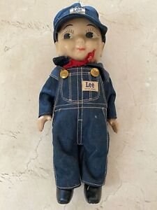 VINTAGE BUDDY LEE DOLL ENGINEER DENIM OUTFIT COMPLETE EXCELLENT CONDITION