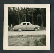 C1950s Original Photo: American Style Classical Car