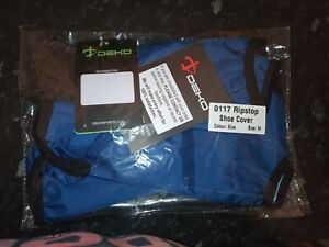 Deko cycling waterproof overshoe brand new in bag. Keep feet warm & dry in wet.
