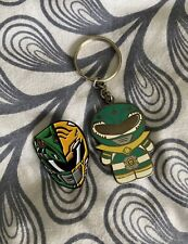 Mighty Morphin Power Rangers Green Ranger Tommy Keychain & Pin
