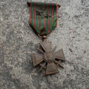 WW1 ORIGINALFRENCH CROIX DE GUERRE MEDAL