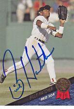 1993 Leaf Signed #109 Billy Hatcher Red Sox Autograph JSA