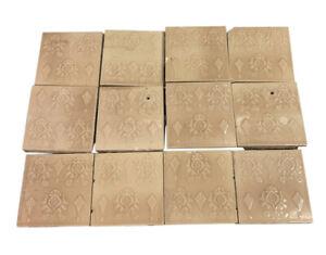 Antique Cambridge Tan Decorative Tile Set