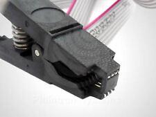 Test-Clip Programmier-Klammer SOIC-8 inkl. 2 Adaptern, In-Circuit Programmer SO8