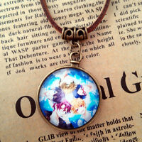Anime Miku Necklaces Cosplay Pocket Watch Pendants Charm Butler Jewelry Props