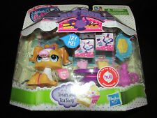 New Littlest Pet Shop Treats and Tea Shop Playset 3010 Dog w/Motion Accessories