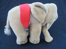 """Vintage Steiff Circus Elephant 8"""" tall mohair"""