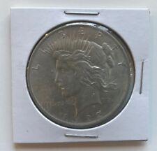 1922 $1 Peace Dollar. Very Fine