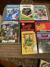 Joblot Minecraft Book Bundle Cheats And Stratagy Guides