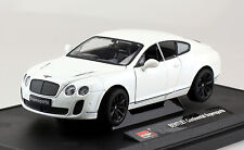 Bentley Continental Supersports Coupe weiß 1:24 MZ  Modellauto