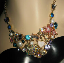 - Betsey Johnson Starfish Seashell Bib Necklace