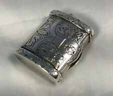 More details for beautiful george lll vinaigrette hm silver/gilt washed 'joseph taylor' 1821