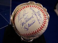 1969 NEW YORK METS WS TEAM SIGNED AUTOGRAPH BB STEINER HOLO RYAN McGRAW SEAVER