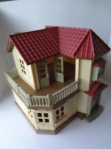 Calico Critters Red Roof Country Home Sylvanian Families Bunny Epoch sm Mansion