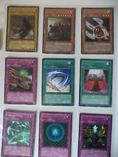 collection YUGIOH CARDS LOT OF 9 RARE 1ST EDITION FIRST YU-GI-OH ! TRAP MAGIC +