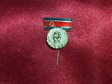North Korea 1980's BOX Boxing sport federation pin badge USSR era