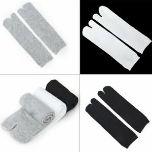 3*Pair Socks Japanese Kimono Socks Flip Flop Sandal Split Toe Tabi Ninja-Geta