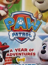PAW PATROL A YEAR OF ADVENTURES X5O LOOSE STICKERS