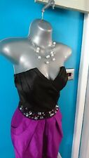 £90 lipsy dress 8 wedding s bodycon mini Prom Evening strapless gown flare