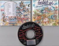 Ferdich ab CD GESPIELTE WITZE ©1995 German Punk Rock 14-track - near mint