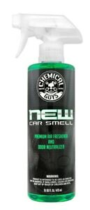 Chemical Guys NEW CAR SCENT 16ounces Air Freshener Smell Premium Odor Eliminator