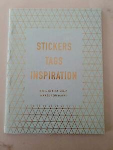 Kikki K Sticker Book - INSPIRATION - quote stickers planner