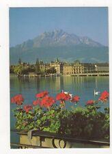 Luzern Mit Pilatus Postcard Switzerland 442a