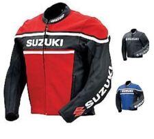 Honda CBR Hand Made Leather Motorcycle Racing Motorbike Biker Jacket