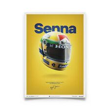Ayrton Senna Poster Mclaren MP4/