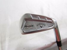 Callaway RAZR X Forged Single 6 Iron Project X Flighted 5.5 Firm Steel Used RH