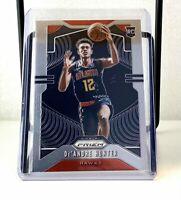 2019-20 NBA Panini Prizm De'Andre Hunter Base RC Rookie Card #251 Atlanta Hawks