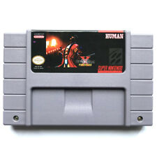 Super Fire Pro Wrestling X Premium for snes game cartridge english translated