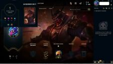League of Legends account EUW -Unranked--7 champions--1 skin-