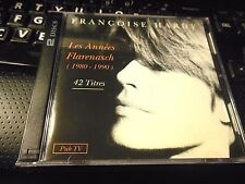 Les Annees Flarenasch 1980-1990 by Francoise Hardy (2CD 1993) French IMPORT