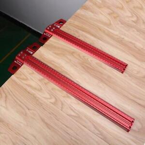 Precision Marking T-Ruler Scriber Square Hole Gauge Aluminum Alloy Woodworking