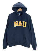 Northern Arizona University Lumberjacks Embroidered Champion Hoodie Sweatshirt L