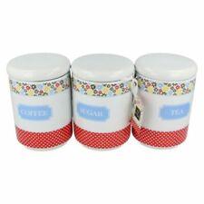 Contenitori e barattoli da cucina bianco in ceramica