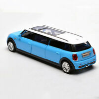BMW Mini Extended Limousine 1:36 Model Car Diecast Toy Vehicle Kids Gift Blue