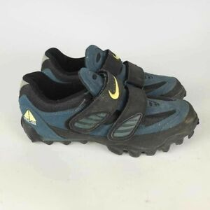 Nike ACG Mens Mountain Bike Cycling Athletic Shoes Cleats Blue Black Size: 9M