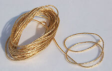 Rayher 5151806 Goldkordel 1 Mm ø Sb-btl 5 M