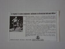 advertising Pubblicità 1971 MOTO MULLER