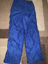 Polar Edge Insulated Ski Pants Royal Blue Boys Medium 10/12