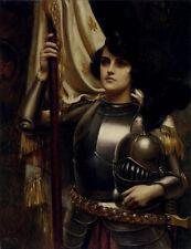 Joan of Arc Harold Piffard Portrait Maid of Orleans 6x5 Inch Print