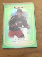 19-20 UD Stature Hockey Green Parallel 53 Zach Werenski 133/149